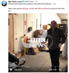 BBC Radio Leeds Twitter Footage