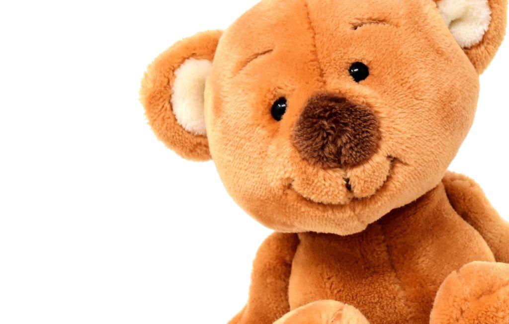 teddy at toy fair London