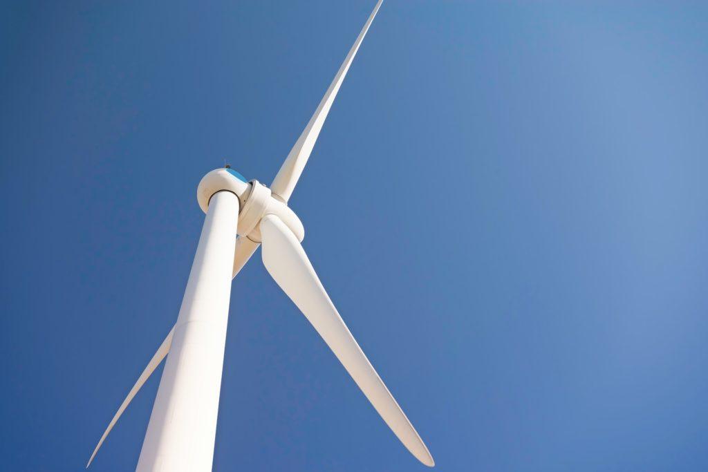 wind turbine at energy expo