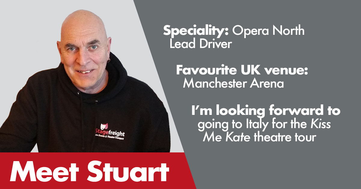 Stuart Stagefreight Driver Profile