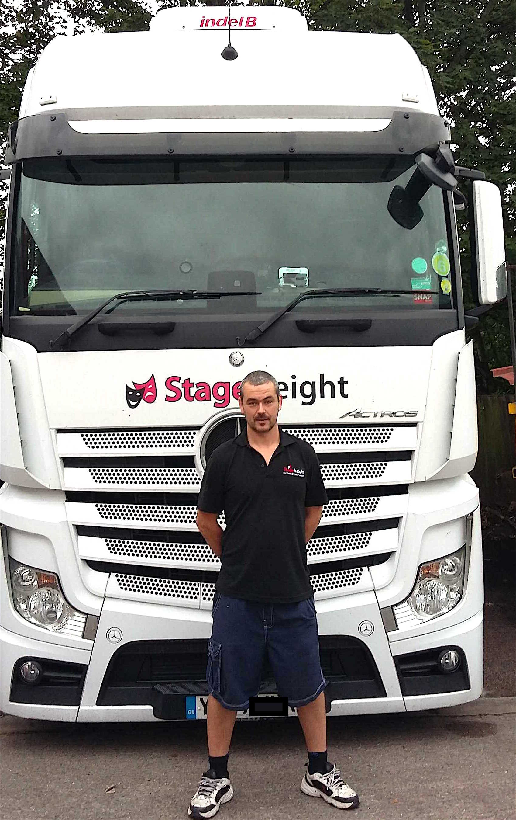 Ash Bateman Stagefreight driver