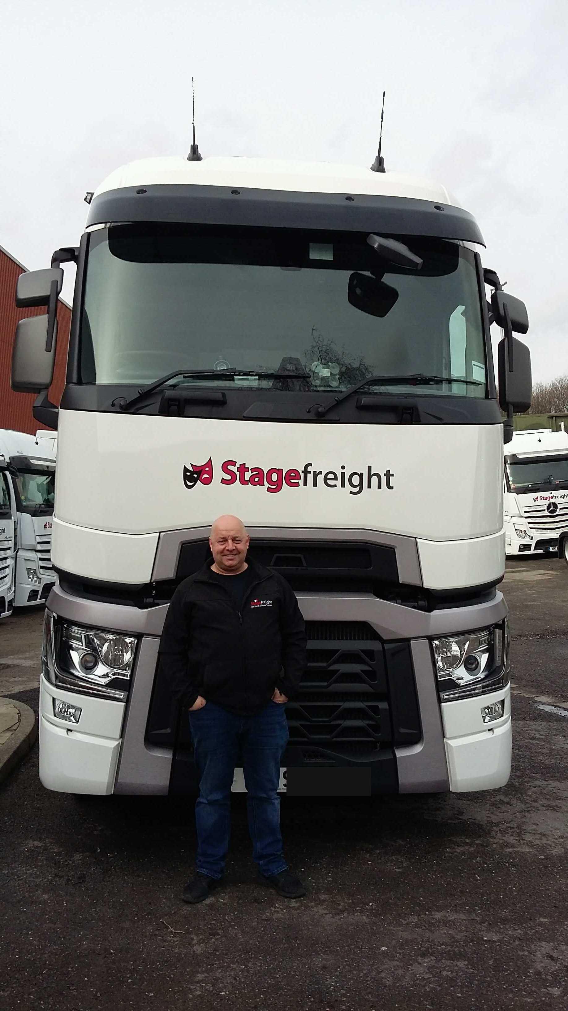 Mark Fields Stagefreight Driver