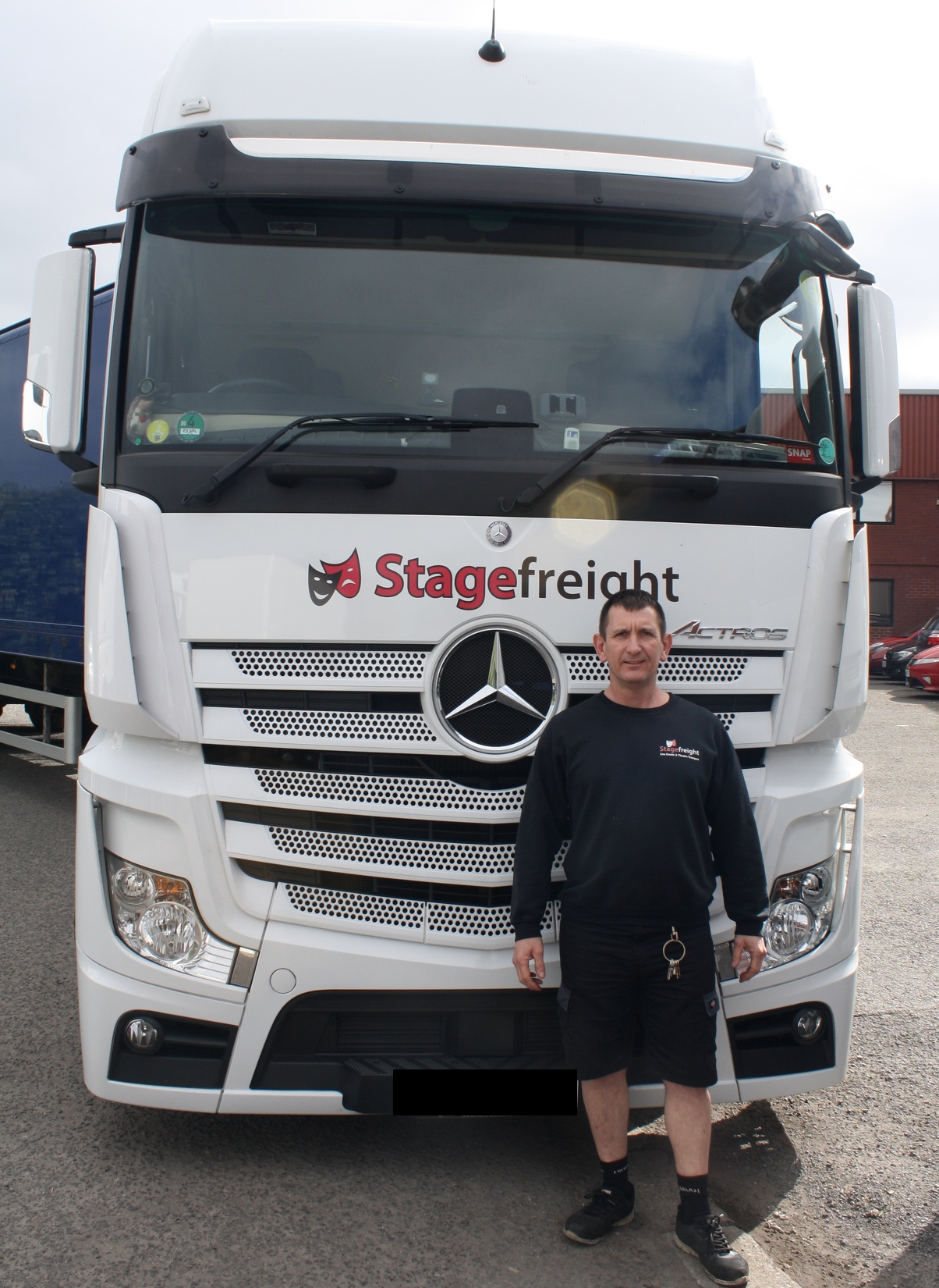 stagefreight driver Paul Garfit