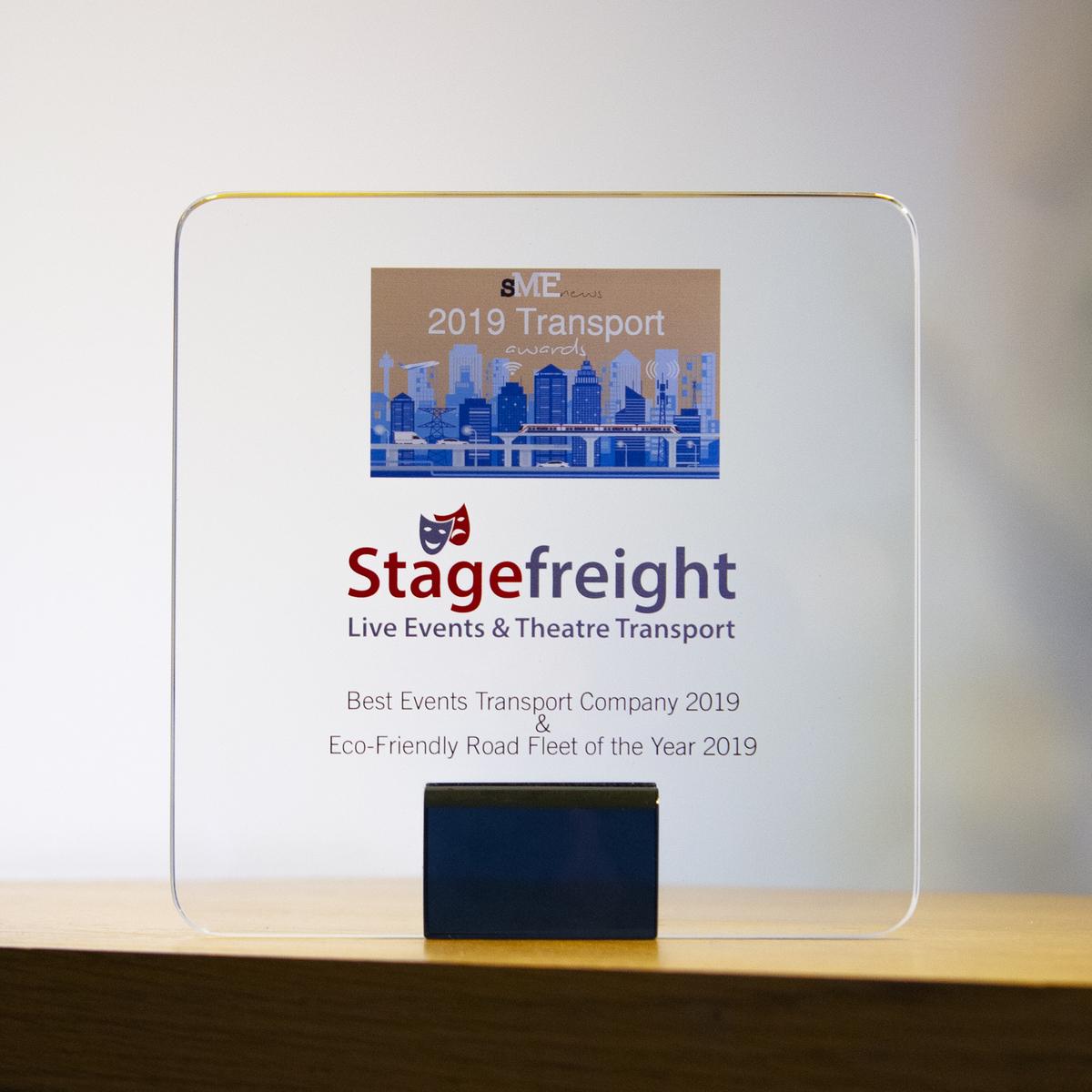 stagefreight award 2019 SME News