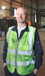 Chris Adgie Stagefreight Staff Pic