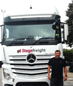 Daz and StageFreight Truck