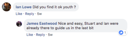 Stagefreight Facebook Conversation