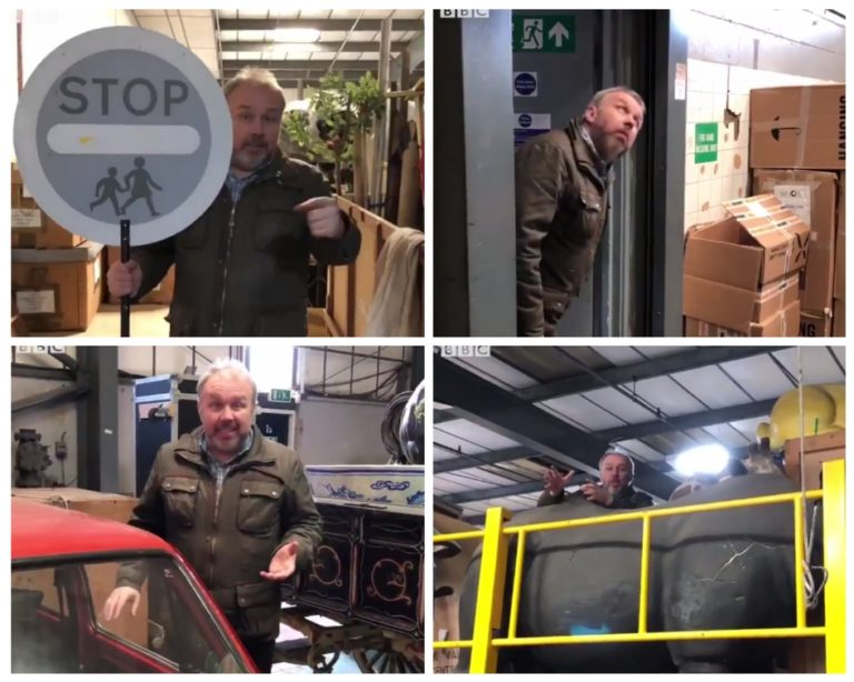 BBC Radio Leeds at Stagefreight collage