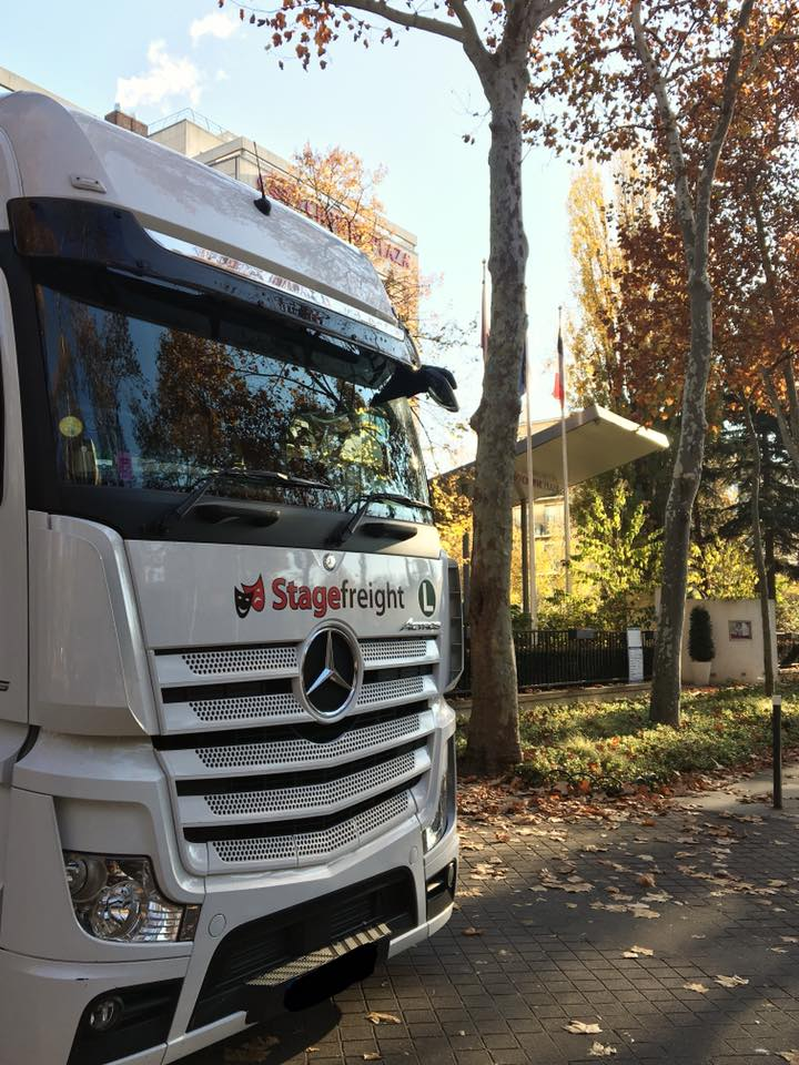 Stagefreight truck in Paris