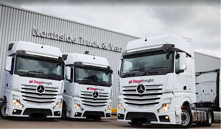 Stagefreight trucks tractor units
