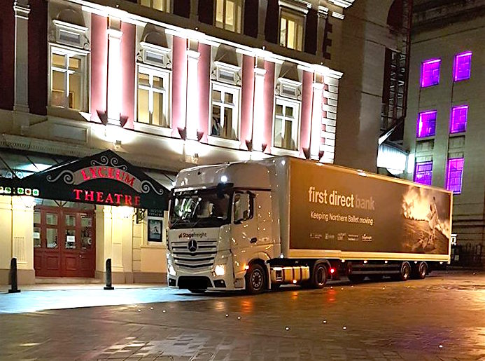 Stagefreight truck at Lyceum Theatre