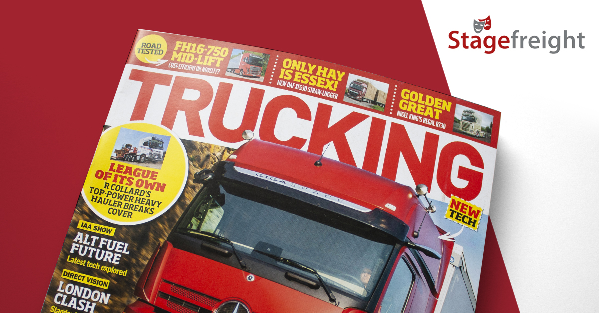 Trucking Magazine article