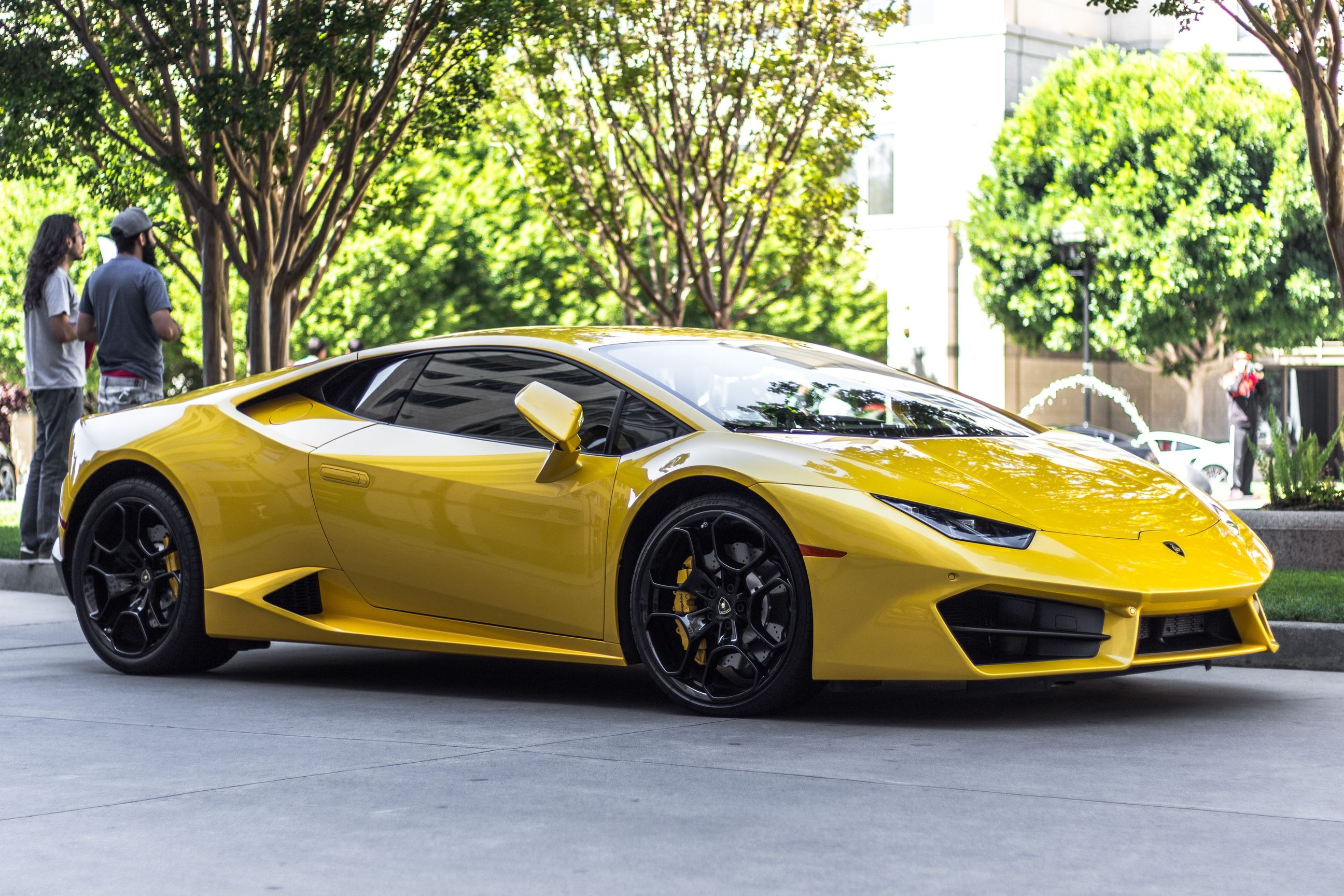 Yellow Ferrari Photo by Dexter Flexter on Unsplash