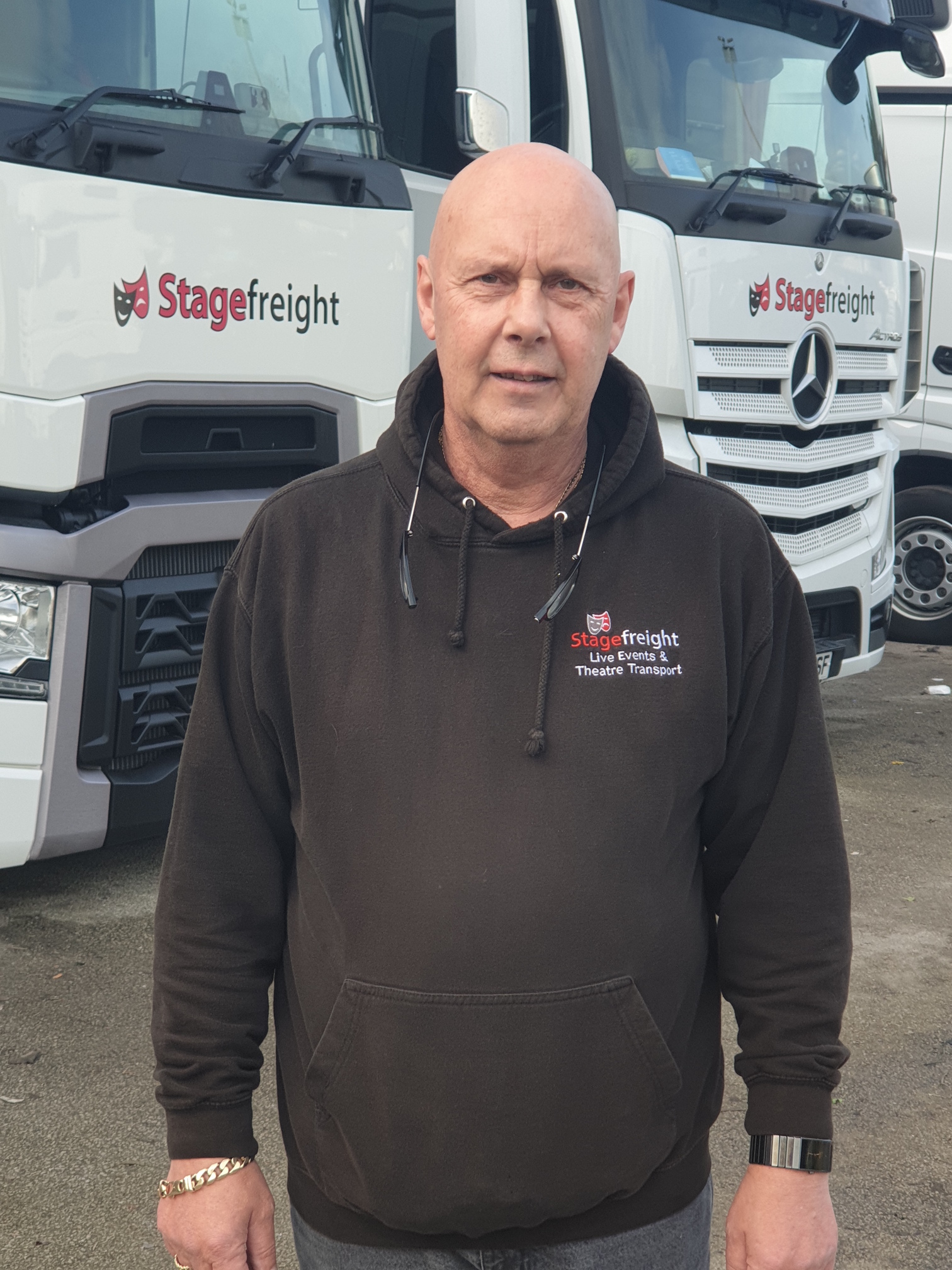 Allan Spencer Stagefreight Driver