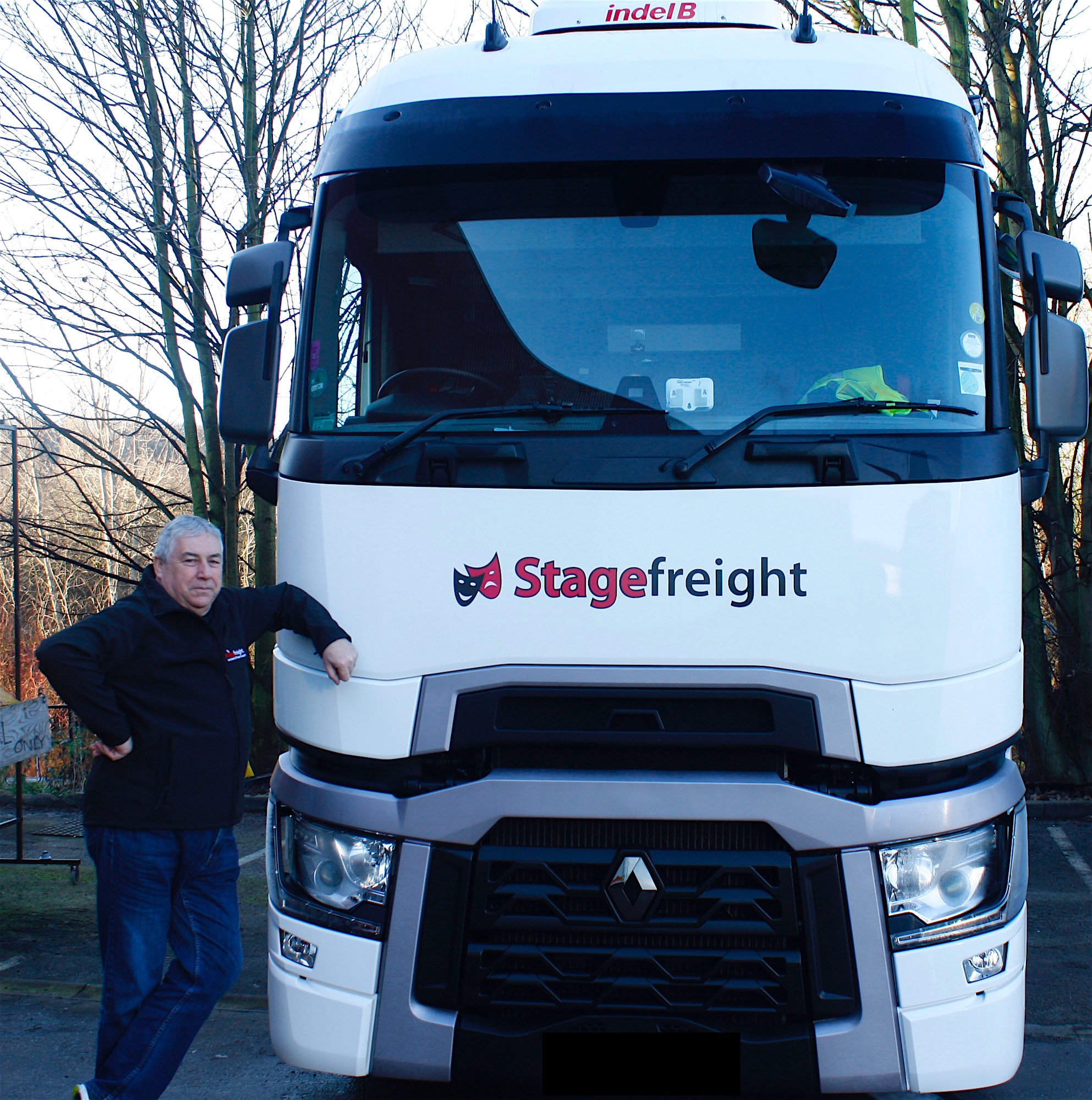 Ross Hemsworth at Stagefreight South Exeter
