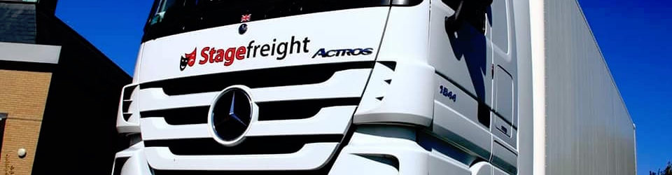 New Stagefreight truck model in the sun